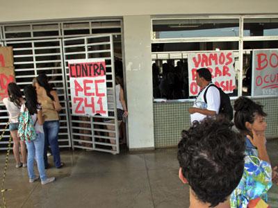 Centro Educacional da Universidade Federal do Triângulo Mineiro está ocupado desde a semana passada