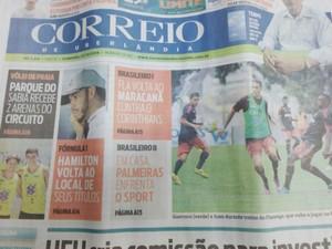 Jornal impresso tem 80 anos de veiculação em Uberlândia