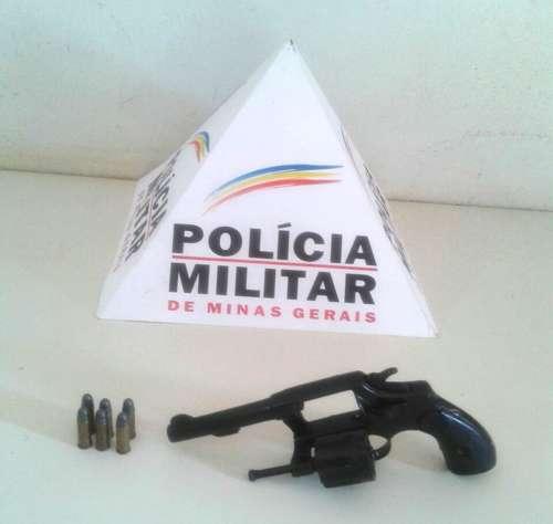 Arma apreendida / Foto: PMMG - divulgação
