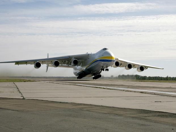 Antonov chegará no Brasil nesta segunda  (Foto: Divulgação/ Antonov Company )