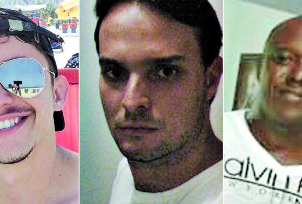 Vítimas. Guilherme Pagotto, Helton Botelho e Maximiliano de Oliveira teriam costume de marcar encontros por meio de aplicativos