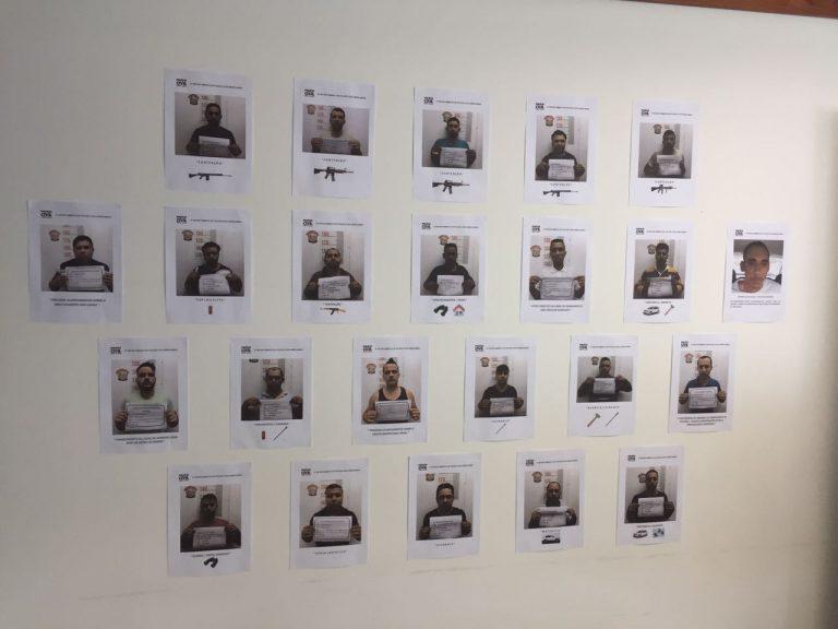 Foto dos suspeitos presos / tv vitoriosa