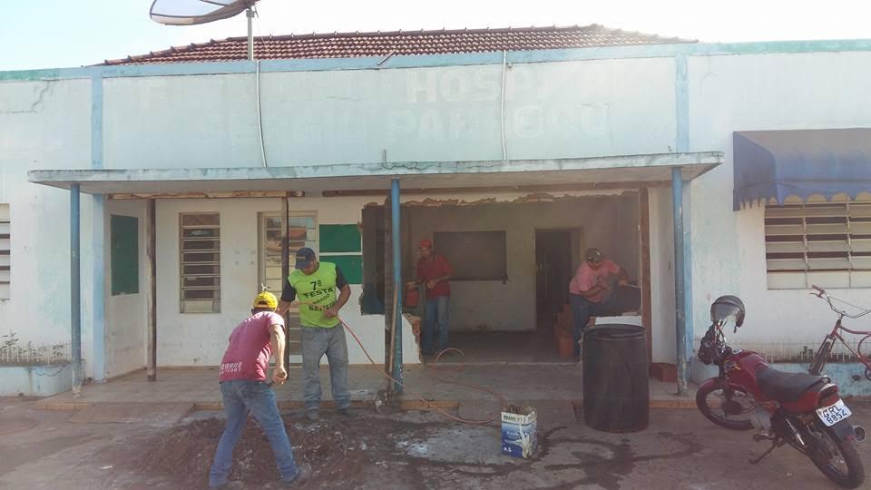Prefeitura inicia reforma do antigo Hospital