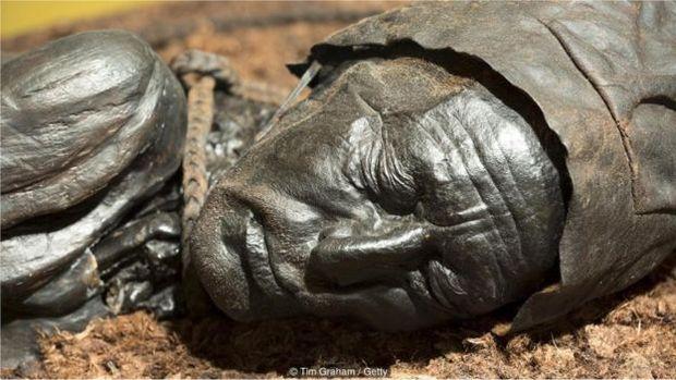 O Homem de Tollund foi enforcado e depositado na lama há 2.400 anos