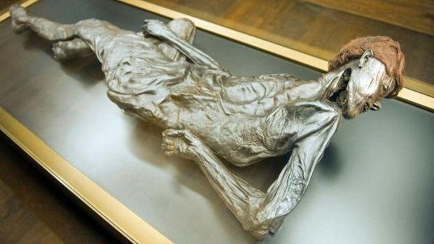 O Homem de Grauballe é a principal atração do Moesgaard Museum