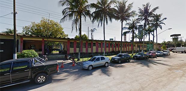 Fachada da penitenciária Anísio Jobim, em Manaus / Foto: Google Maps