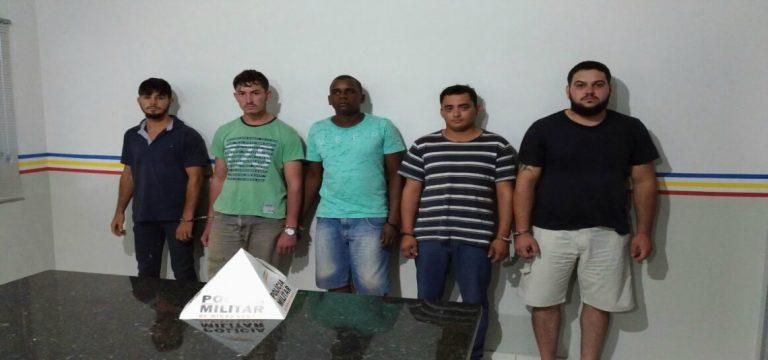 Suspeitos foram presos / Foto: PMMG