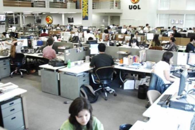 Redação do Uol em São Paulo: representantes do portal não puderam ser contactados de imediato (Alexandre Battibugli/INFO)
