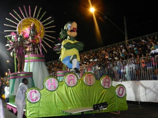 Sem recursos da Prefeitura, desfile das escolas de samba pode ser cancelado em Uberlândia (Foto: Caroline Aleixo/G1)