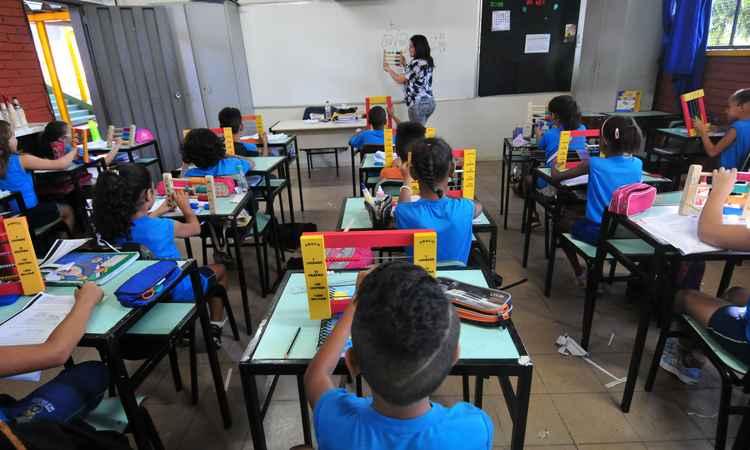 Os professores de todo o país têm direito ao reajuste anunciado (foto: Alexandre Guzanshe/EM/D.A Press)