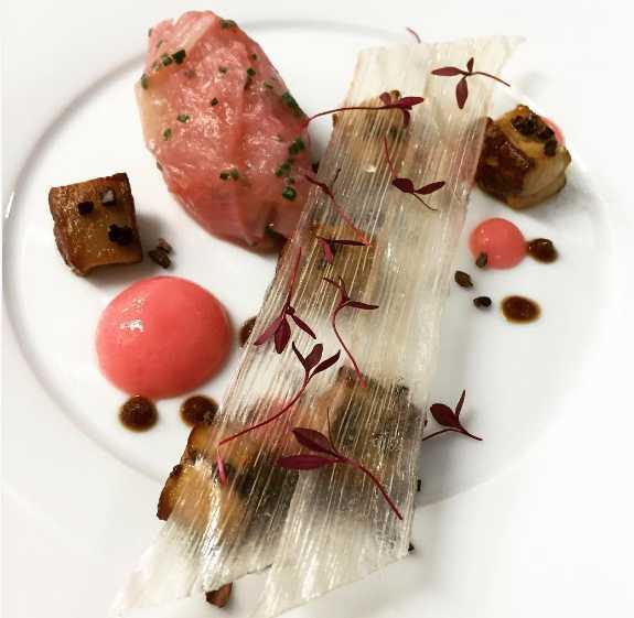 O primeiro prato preparado por Nicolau Júnior foi postado em 2015