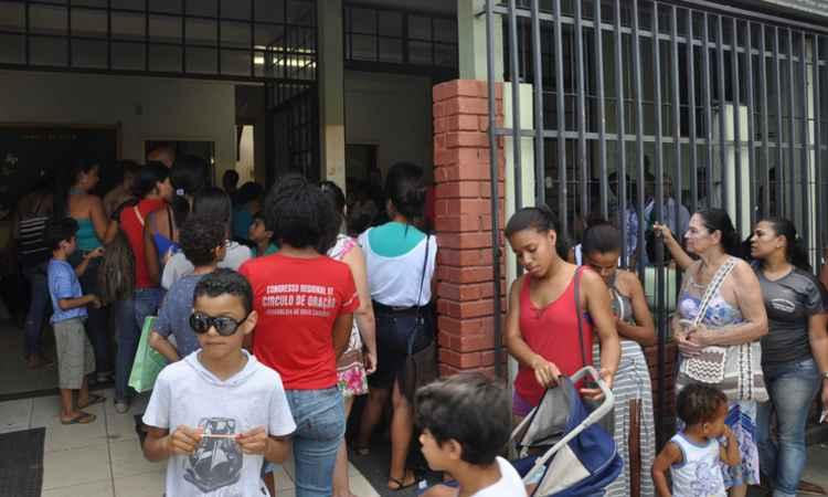 Vacina contra a febre amarela no PSF do bairro Bela Vista em Teofilo Otoni/MG (foto: Douglas Fernandes/Prefeitura de Teofilo Otoni )
