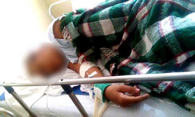 Vítima foi encaminhada ao Hospital São José em Ituiutaba / Foto: Reprodução