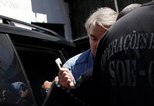 O ex-bilionáiro Eike Batista chega ao presídio de Ary Franco, no Rio / Ueslei Marcelino/Reuters