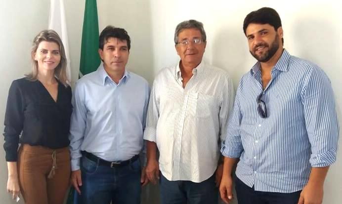 (esq) Sandra Barbosa, Cleidimar Zanotto, Luiz Humberto Carneiro e João Makhoul