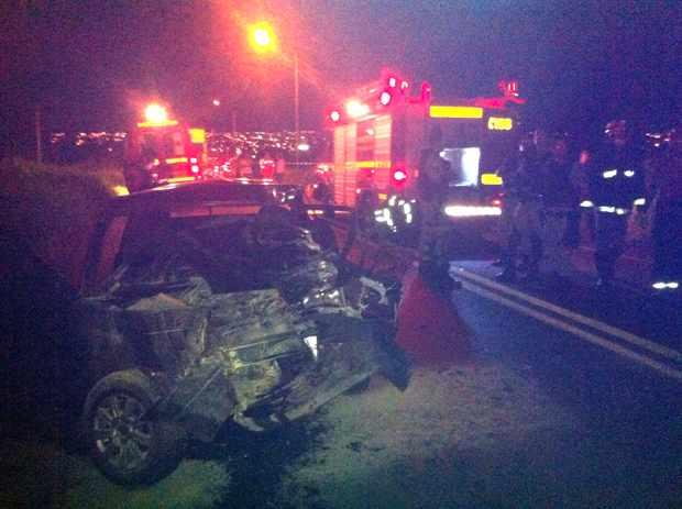 09022017- homem de 29 anos morre em acidente na br365 entre ituiutaba e santa vitoria