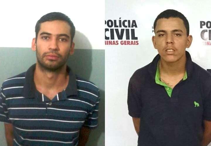 Suspeitos foram presos pela Polícia Civil / Foto: PCMG