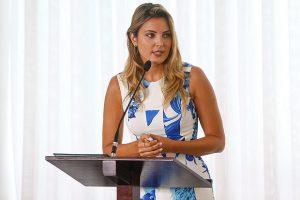 A primeira-dama Marcela Temer, que teve celular clonado em 2016