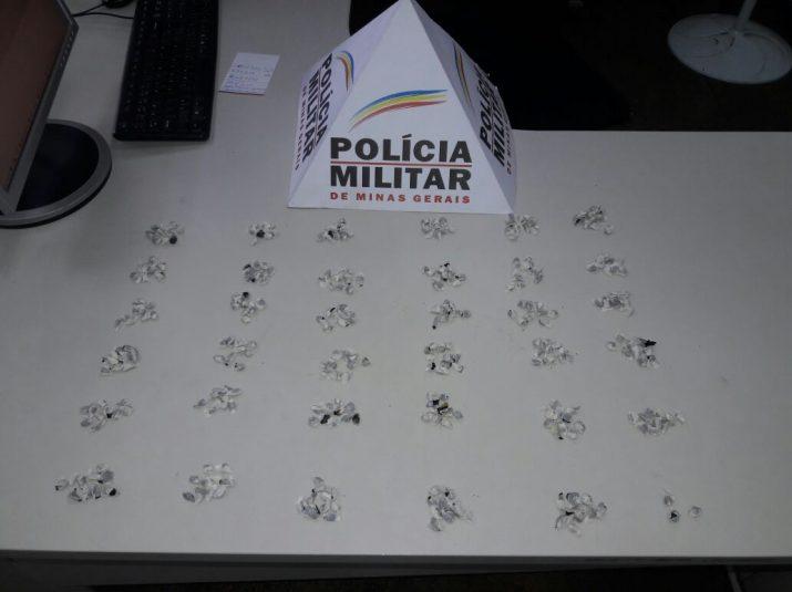 Homem é preso com mais de 350 pedras de crack próximo ao Terminal Rodoviário de Uberlândia