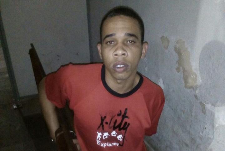 David Marques, de 23 anos é albergado e foi encaminhado para delegacia de plantão