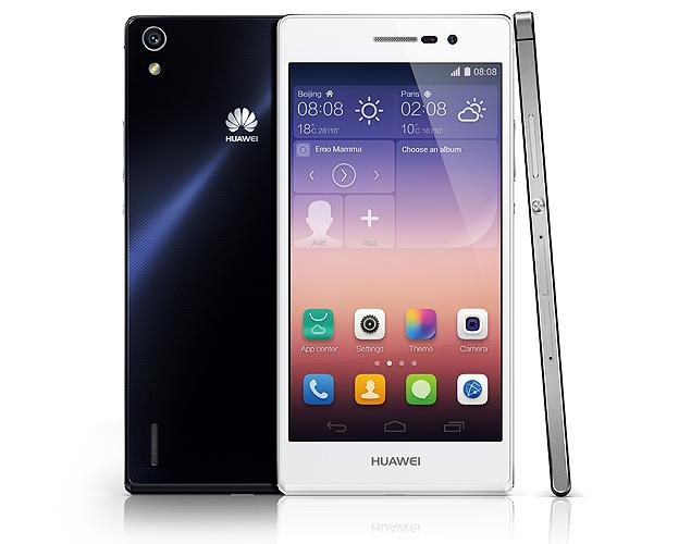 O smartphone Ascend P7, da Huawei NATÁLIA PORTINARI DE SÃO PAULO