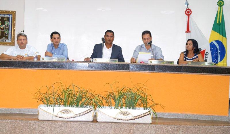 (Esq) Jaisson Silvio, Luciano Belchior, Ivo Américo, Cido, Neide Martins
