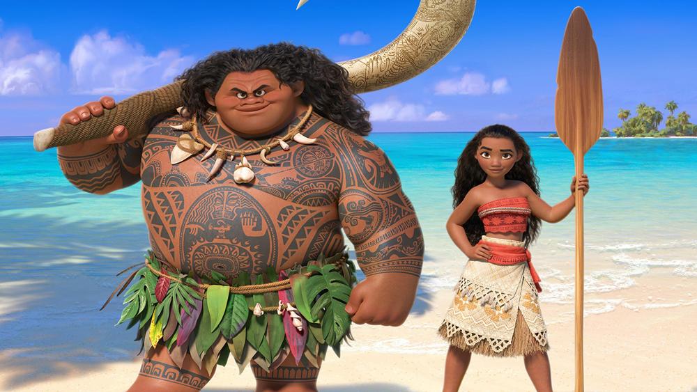 'Moana' é a história de uma adolescente que se aventura pelo Oceano Pacífico para desvendar um mistério que envolve seus ancestrais. (foto: Disney/Reprodução)