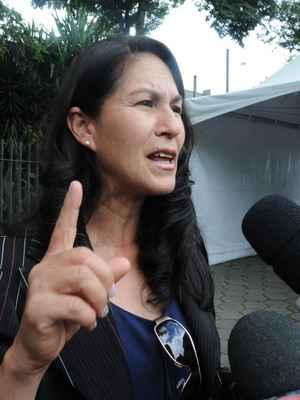Sônia de Fátima Moura, mãe de Eliza Samudio (foto: Beto Magalhaes/EM- 6/3/2013)