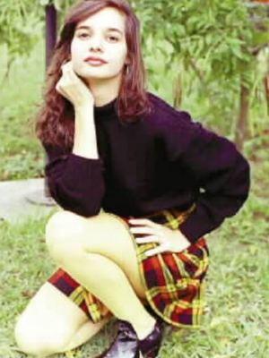 A atriz Daniella Perez. Daniella foi morta no dia 28 de dezembro de 1992 pelo colega, o ator Guilherme de P‡dua, e seu corpo foi encontrado em um terreno na Barra da Tijuca, zona Sul do Rio de Janeiro, com v‡rias perfura›es.