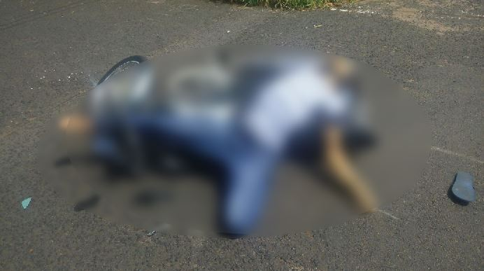 Vinícius, de 19 anos, levou três tiros nas costas