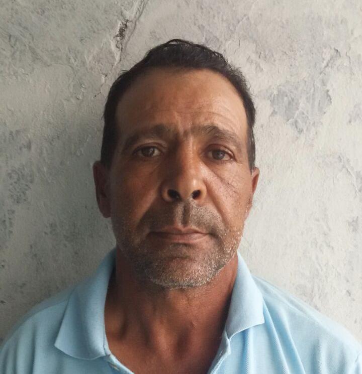 Lanir Cardoso Mendes de 55 anos preso em Monte Alegre de Minas  - Foto: PMMG