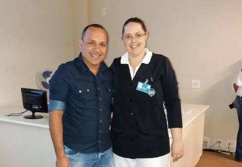 Celismar Vieira, enfermeiro, participa de treinamento em Barretos Foto: Divulgação