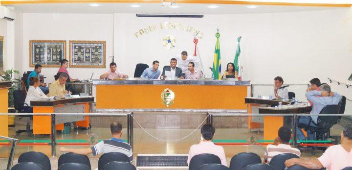 Reunião da Câmara em 24/04/2017 / Foto: Paulo Braga