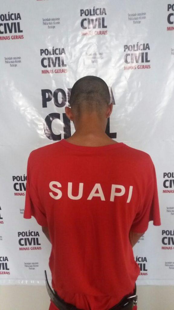 Jovem foi detido pela Polícia Civil