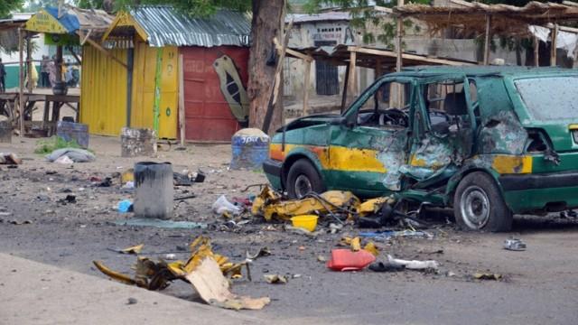 Foto de 2015 mostra local destruído por bomba de extremistas, em Foto: AFP 31-07-2015