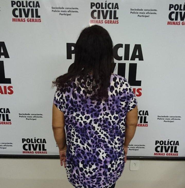 Eva Custódio dos Reis, 49 anos foi presa por comunicar falso sequestro