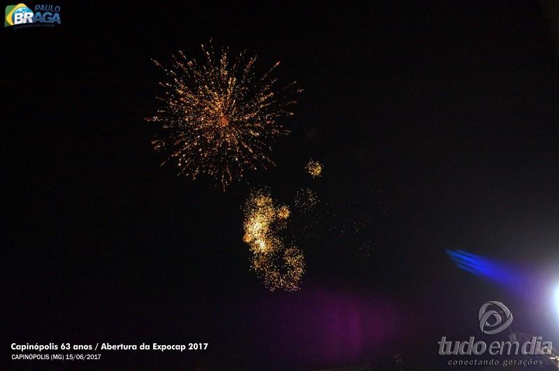 Abertura oficial da 24ª Expocap / Foto: Paulo Braga