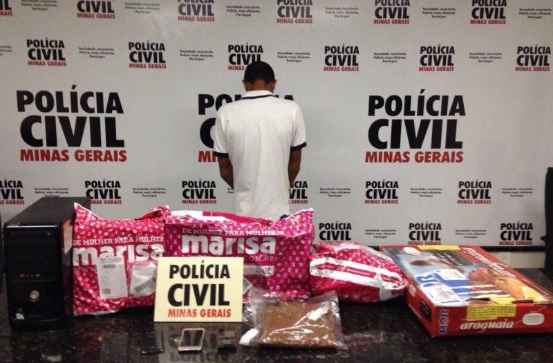 Polícia Civil prende suspeito de estelionato e corrupção de menores em Ituiutaba / Foto: Reprodução