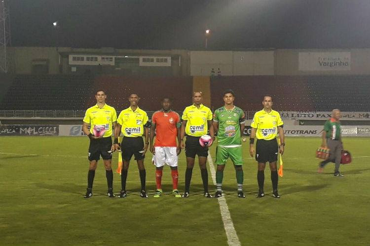 Boa Esporte eUberlândia se enfrentaram, no Melão, em Varginha, em duelo pela 7ª rodada do Mineiro Fonte: Reprodução/Twitter/FMF
