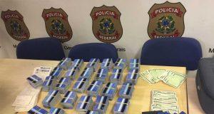 Mil e trezentos cartões, dos 2,3 mil recolhidos durante a operação, foram encontrados em hotel da Savassi, em BH (foto: Guilherme Paranaiba/EM/D.A Press)