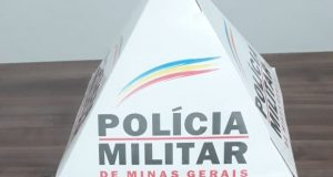 Arma apreendida (Foto: Divulgação/PMMG)