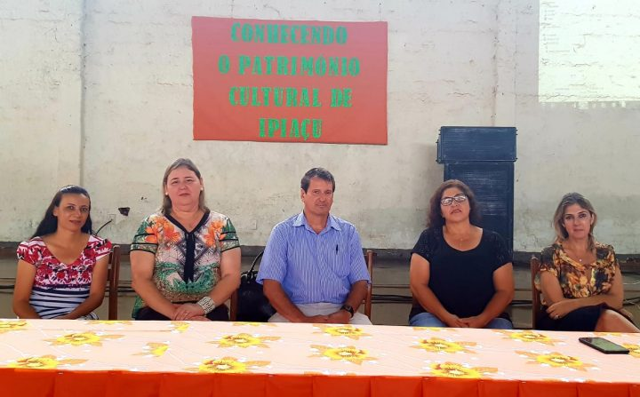 Ipiaçu realizou no sábado seminário sobre Patrimônio Cultural (Foto: Felipe)