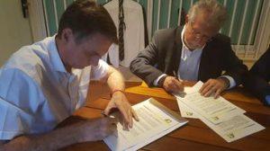 Candidato Jair Bolsonaro (PSL), assinou Termo de Compromisso no Rio - ABI/Direitos reservados