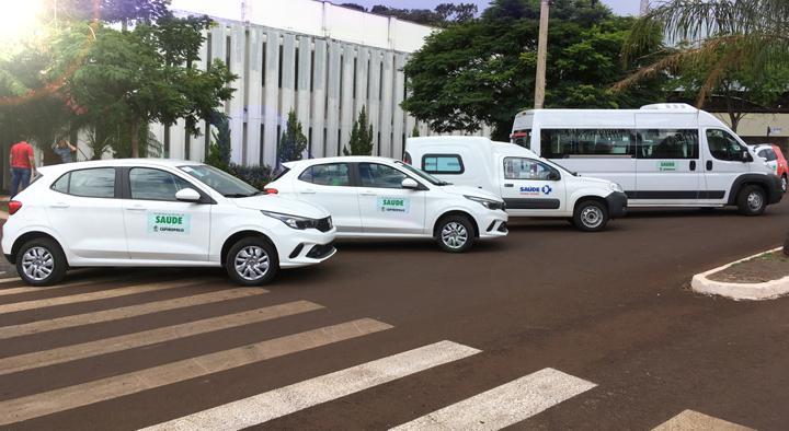 Novos veículos irão proporcionar melhorias ao atendimento à população