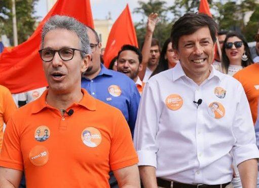 (Esq) Romeu Zema e João Amoêdo