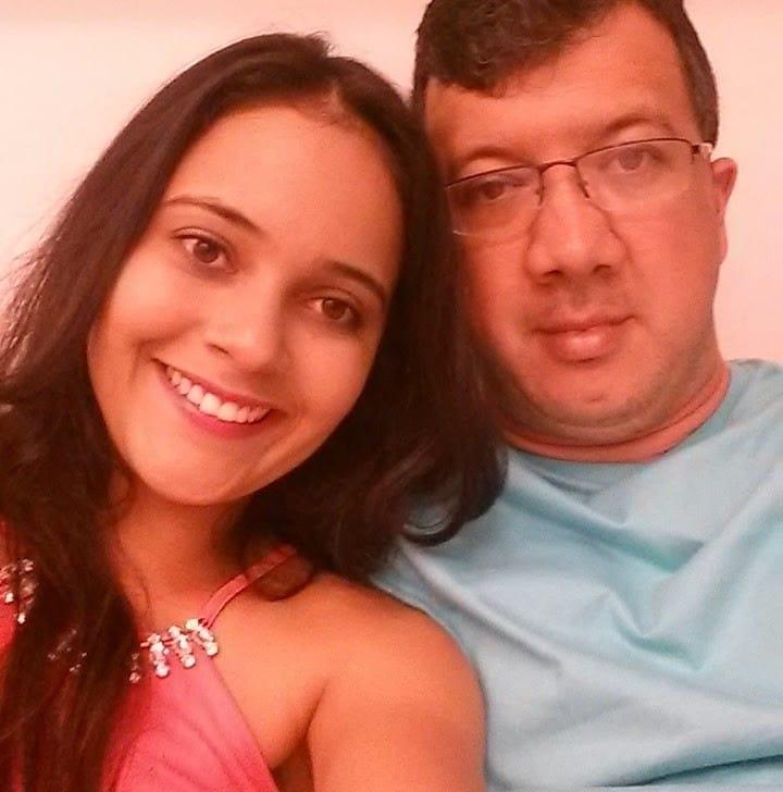 Juliana Silva e Luiz Henrique Custório — pais do pequeno Henrique