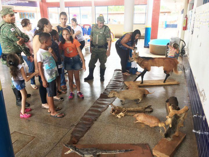 Polícia Ambiental ministra palestra aos estudantes de Capinópolis