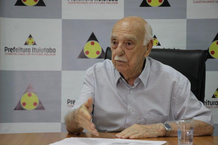 Prefeito de Ituiutaba, Fued Dib (Foto: Ascom/Divulgação)