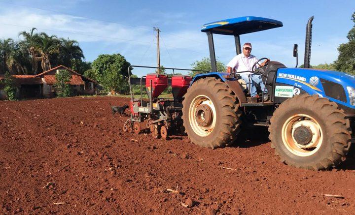 Apoio à agricultura familiar, em Capinópolis