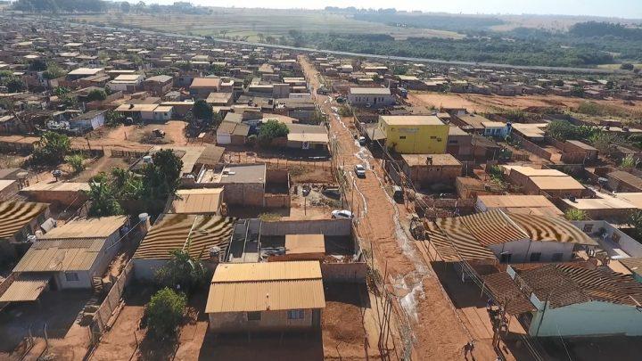 Antigo assentamento Glória em Uberlândia passa por regularização para se tornar o Bairro Elisson Prieto — Foto: Reprodução/TV Integração